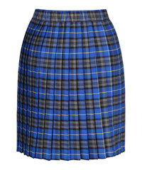 SK105B - Junior Girls Kilt - Blue Tartan