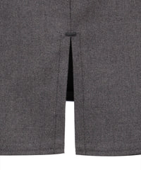 SSK242 - Senior Girls Skirt - Straight - Back Vent - Harrow Grey