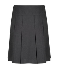 SSK301 Senior Girls Skirt - Inverted Pleat - Grey