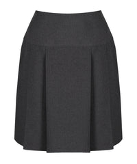 SSK307 Senior Girls Skirt - Pleated - Grey