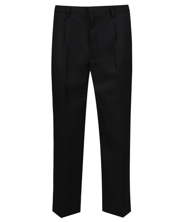 T263 Junior Boys Trouser - Sturdy Fit - Black