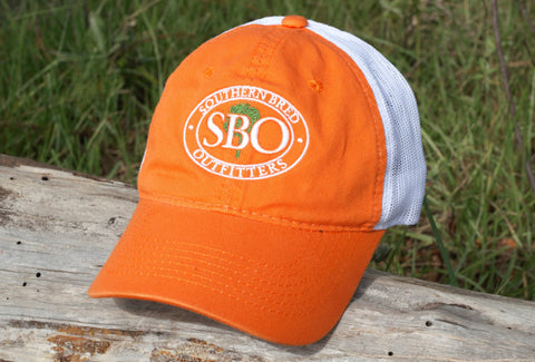 SBO Trucker Cap Orange Ellipse