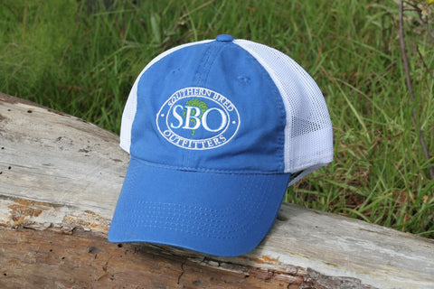 SBO Trucker Cap Blue Ellipse