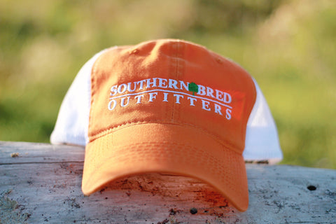 SBO Trucker Cap Orange Linear