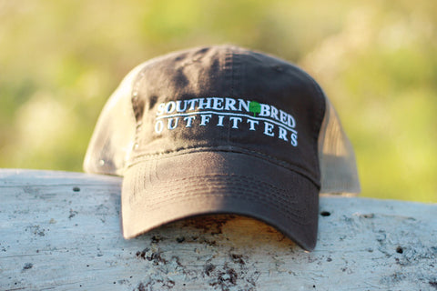 SBO Trucker Cap Chocolate Linear