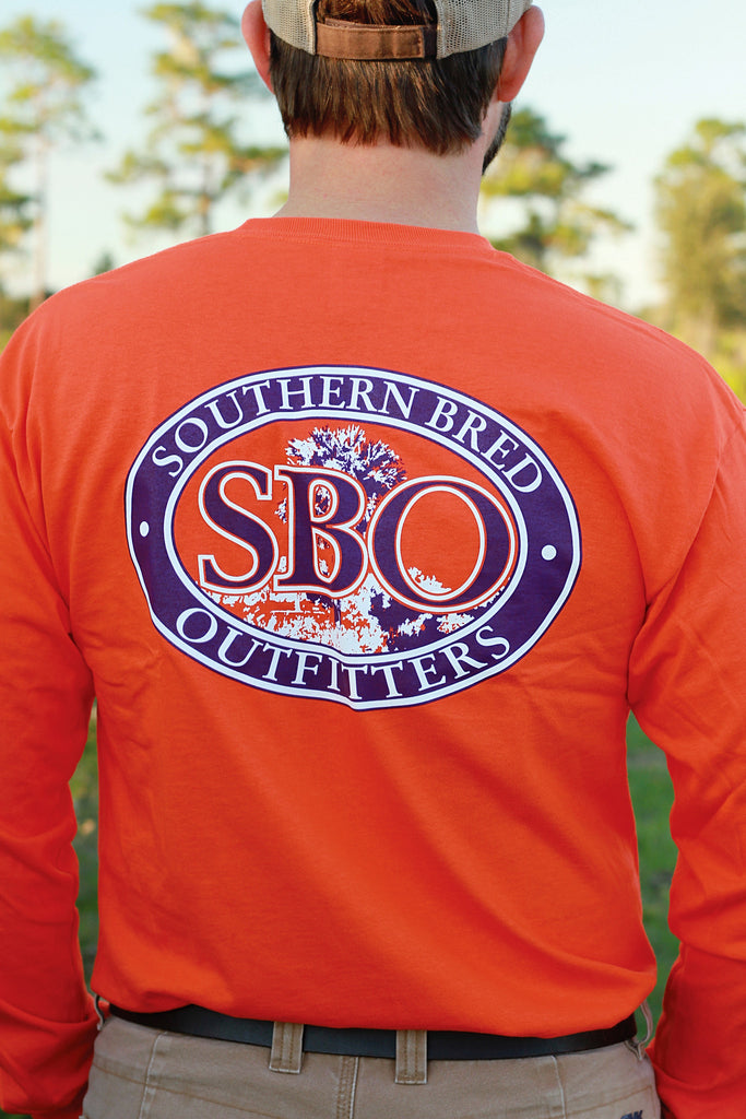 SBO Orange and Purple Long Sleeve T-Shirt