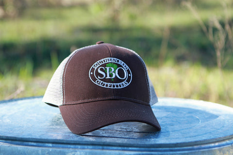SBO Trucker Cap Chocolate Ellipse