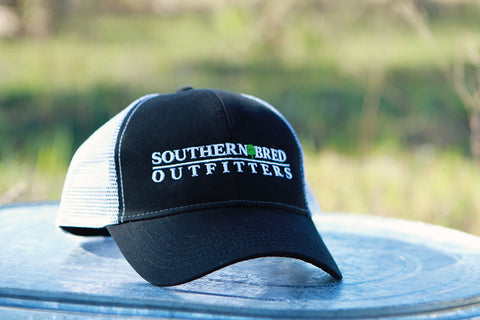 SBO Trucker Cap Black  Linear