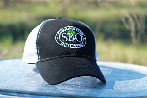 SBO Trucker Cap Black Ellipse