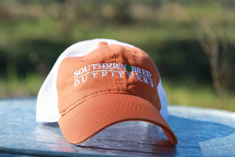 SBO Trucker Cap Burnt Orange Linear