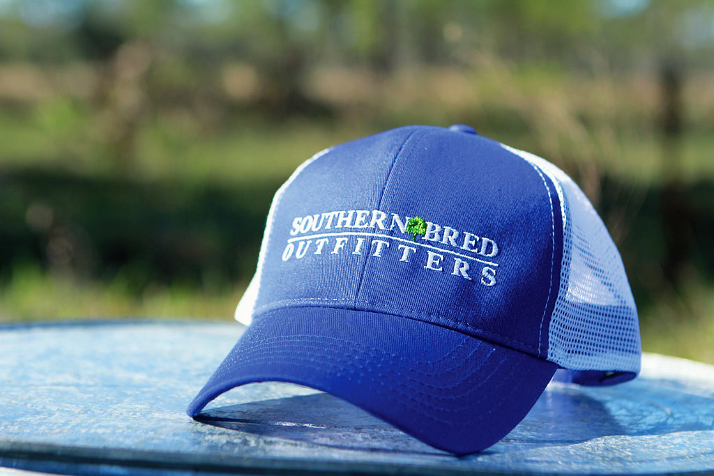 SBO Trucker Cap Blue Linear