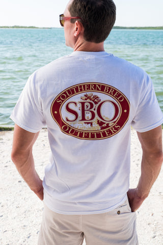 SBO Garnet and Gold  Short Sleeve
