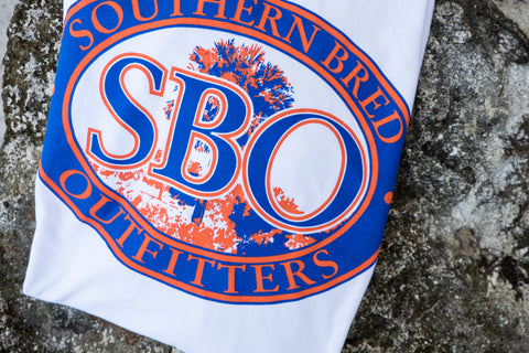 SBO Orange and Blue Short Sleeve