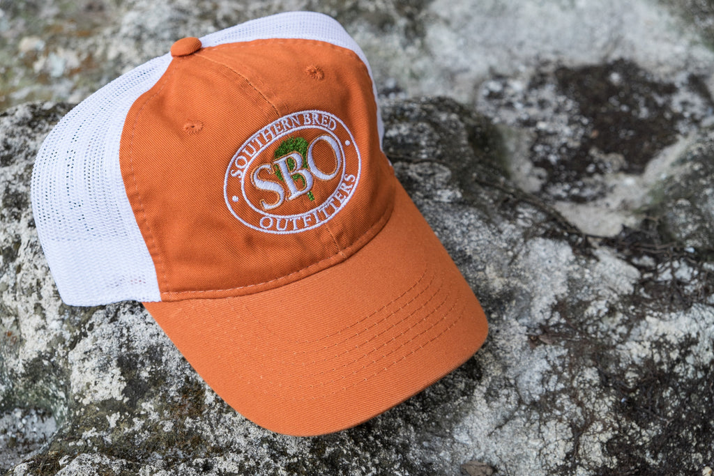 SBO Trucker Cap Burnt Orange Ellipse
