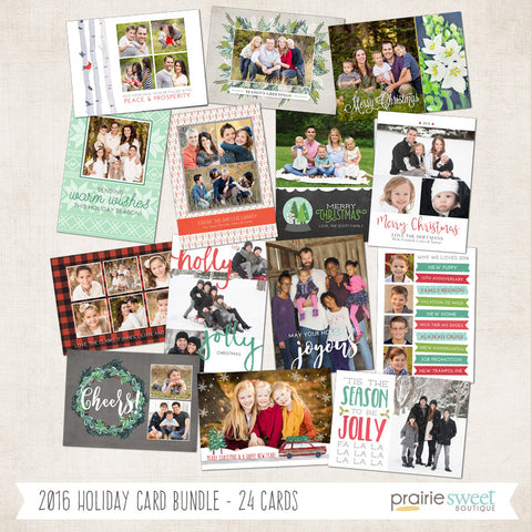 2016 Holiday Card Collection!