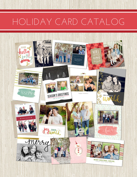 FREE 2014 Holiday Card Catalog