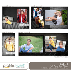 Jacob 4x8 Accordion Album