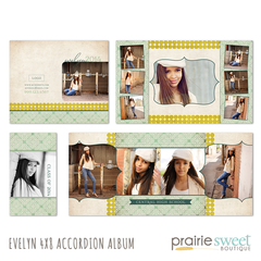 Evelyn 4x8 Accordion Album