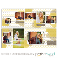 Doodle Fresh Senior 4x8 Accordion Album