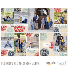 Blooming 4x8 Accordion Album