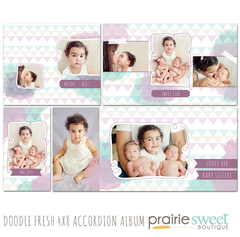 Doodle Fresh 4x8 Accordion Album