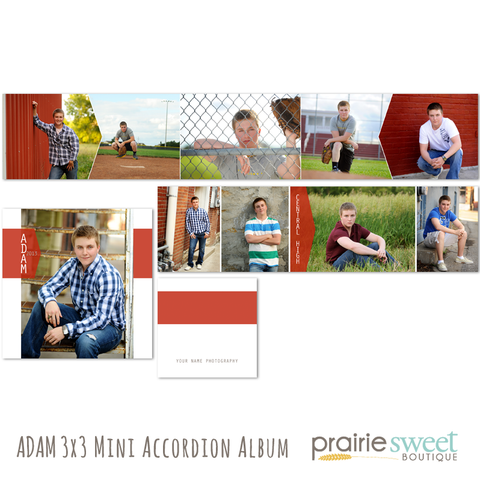 Adam 3x3 Accordion Album