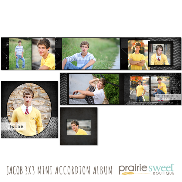 Jacob 3x3 Accordion Album