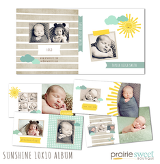 Sunshine 10x10 Album