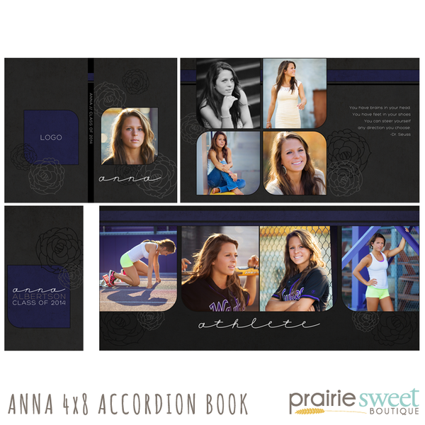 Anna 4x8 Accordion Album