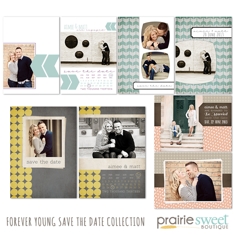 Forever Young Save the Date Collection
