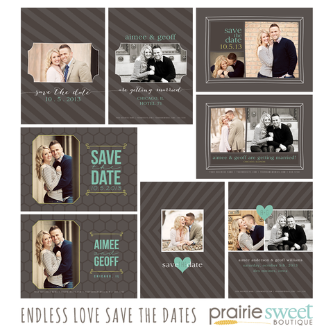 Endless Love Save the Date Collection
