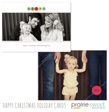 Happy Christmas Holiday Card Collection