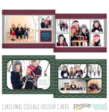 Christmas Collage Holiday Card Collection