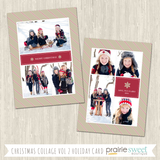 Christmas Collage Vol 2 Holiday Card Collection