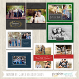 Discounted!  The Entire 2014 Holiday Card Template Bundle