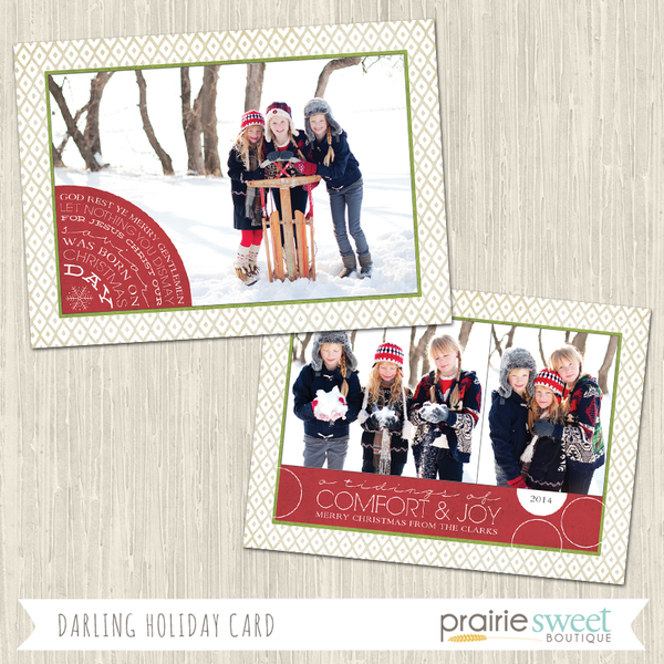 Darling Holiday Card Collection