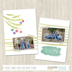 BRANCH | Peace and Love Holiday Card