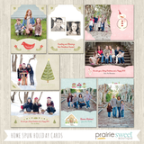 Home Spun Holiday Card Collection