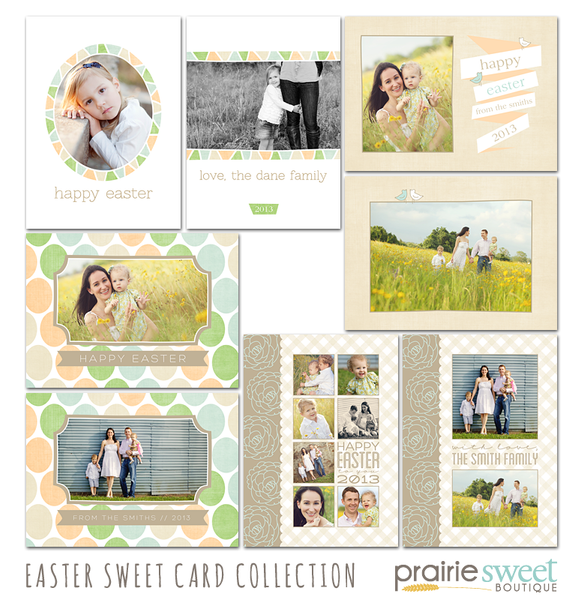 Easter Sweet Card Collection