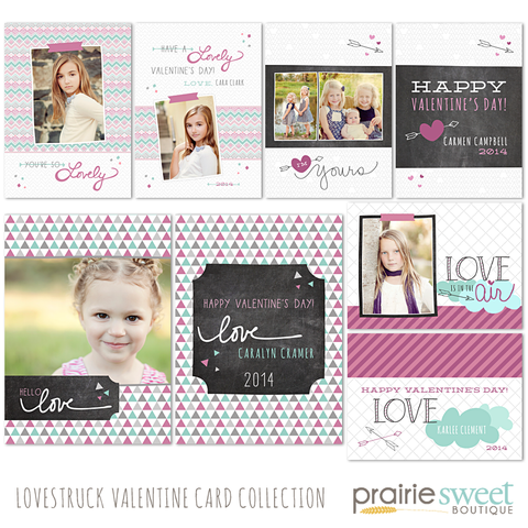 Lovestruck Valentine Card Collection