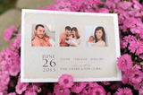 Soft Linen Birth Announcement Collection