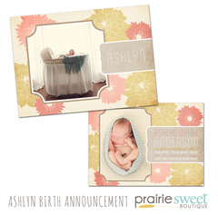 Ashlyn Birth Announcement