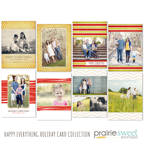 Happy Everything Holiday Card Collection