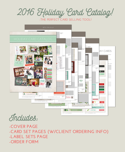 FREE 2016 Holiday Card Catalog