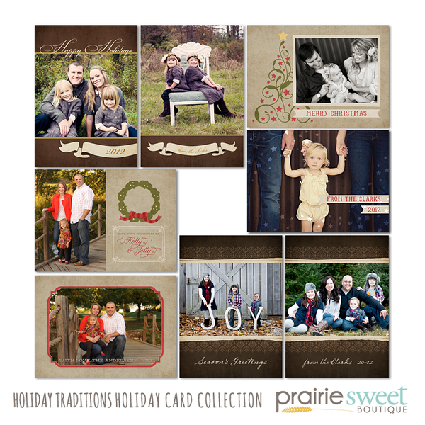 Holiday Traditions Holiday Card Collection