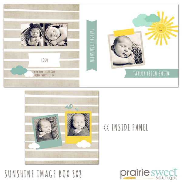 Sunshine 8x8 Image Box