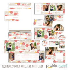 Blooming Summer Marketing Collection