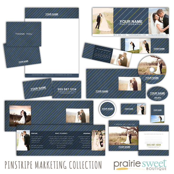 Pinstripe Marketing Collection