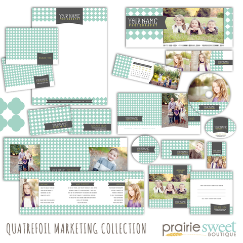 Quatrefoil / Trellis Marketing Collection