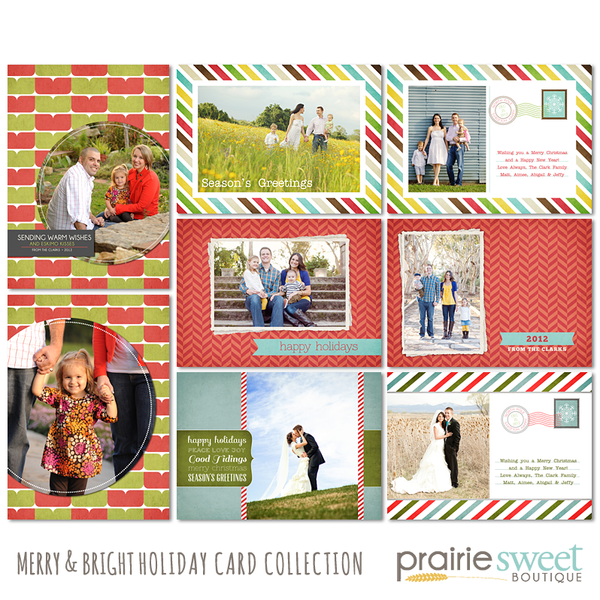 Merry & Bright Holiday Card Collection